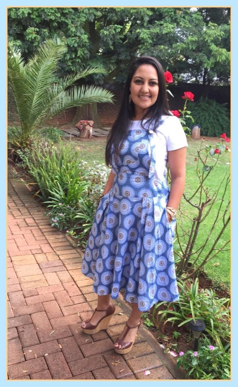 African Print dress 2